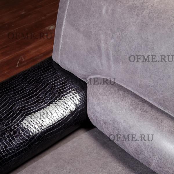 Белый кожаный диван с доставкой