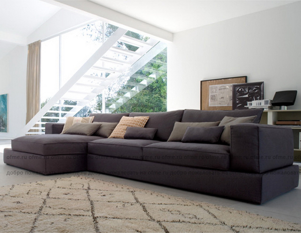 Современные диваны для гостиной фото