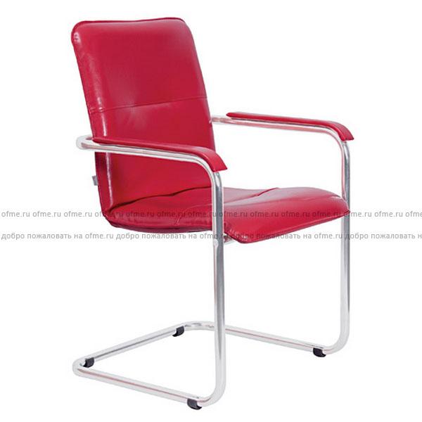 Возможные цвета обивки уточняйте у менеджера. Металлическая хромированная база. Офисные стулья и кресла