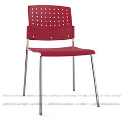 Итальянский стул Movie, Муви пластик на хром каркасе